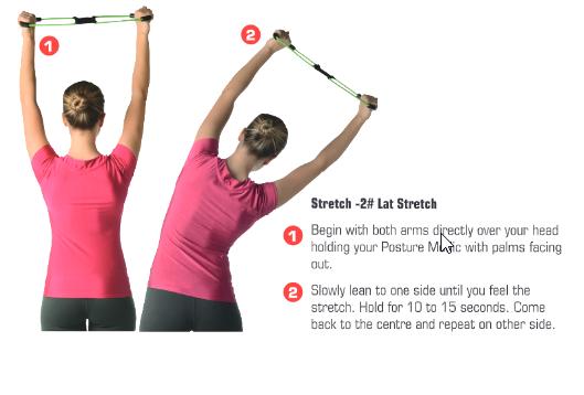 posturemedic back brace exercises